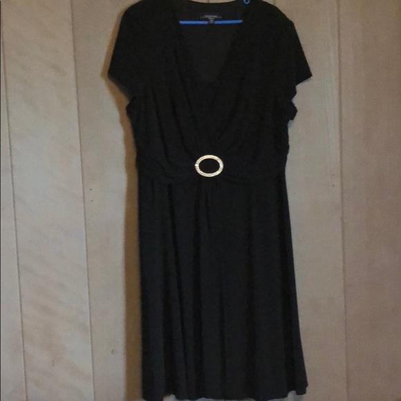 R & M Richards Dresses & Skirts - R & M Richard black dress in size 18W
